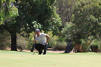 Anthony Quayle (AUS) in action on the 1st during Round 3 of the ISPS Handa World Super 6 Perth at Lake Karrinyup Country Club on the Saturday 10th February 2018.<br /> Picture:  Thos Caffrey / www.golffile.ie<br /> <br /> All photo usage must carry mandatory copyright credit (&copy; Golffile | Thos Caffrey)