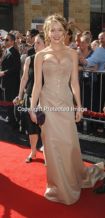 Marnie Schulenberg..arriving at The 34th Annual Daytime Emmy Awards on ..June 15, 2007 at The Kodak Theatre in Hollywood, California. ..Robin Platzer, Twin Images......212-935-0770