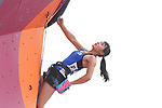 /Futaba Ito (JPN), <br /> AUGUST 26, 2018 - Sport Climbing : <br /> Women's Combined Final Lead <br /> at Jakabaring Sport Center Sport Climbing <br /> during the 2018 Jakarta Palembang Asian Games <br /> in Palembang, Indonesia. <br /> (Photo by Yohei Osada/AFLO SPORT)