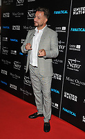 """LONDON, ENGLAND - SEPTEMBER 05: Dapper Laughs (Daniel O'Reilly) at the """"Fanatical"""" world film premiere, The Troxy, Commercial Road on Thursday 05 September 2019 in London, England, UK. <br /> CAP/CAN<br /> ©CAN/Capital Pictures"""