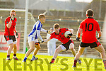 Killian Spillane Templenoe  in Action Against Caolim Teahan Glenbeigh in the Junior County Final at Fitzgerald Stadium Killarney on Sunday.