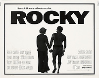 Rocky (1976) <br /> Lobby card<br /> *Filmstill - Editorial Use Only*<br /> CAP/KFS<br /> Image supplied by Capital Pictures