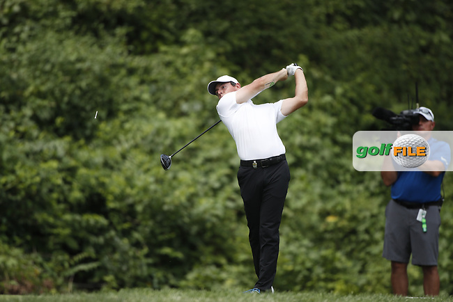 Rory McIlroy (NIR) tees off on the 8th hole during the 1st round of the 100th PGA Championship at Bellerive Country Club, St. Louis, Missouri, USA. 8/9/2018.<br /> Picture: Golffile.ie | Brian Spurlock<br /> <br /> All photo usage must carry mandatory copyright credit (© Golffile | Brian Spurlock)