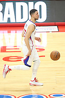 02/22/15 Los Angeles, CA:Los Angeles Clippers guard Austin Rivers #25 in action against the Houston Rockets during an NBA game played at Staples Center.