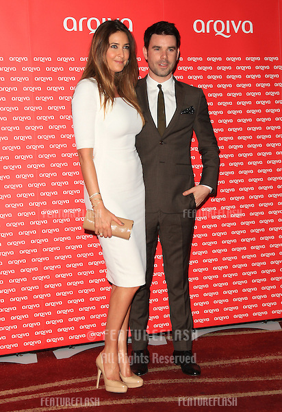 Lisa Snowdon and Dave Berry arriving at the Arqiva Commercial Radio Awards 2012.London, England. 04/07/2012 Picture by: Henry Harris / Featureflash....