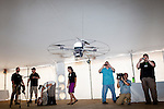 The Airrobot, a flying robot, seen at the Robot Rodeo at Fort Benning in Columbus, Georgia, June 29, 2012...Kendrick Brinson/LUCEO