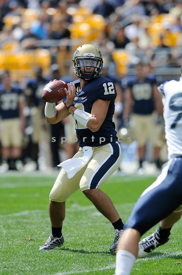 TINO SUNSERI, of Pitt, in action during the Panthers game against the New Hampshire Wildcats on September 11, 2010 in Pittsburgh, Pennsylvania...Pitt won the game 38-16..