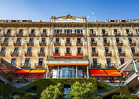 Italy, Lombardia, comunity Tremezzina - district Tremezzo: Grand Hotel Tremezzo - a luxury 5 star hotel   Italien, Lombardei, Gemeinde Tremezzina - Ortsteil Tremezzo: das Grand Hotel Tremezzo - ein luxurioeses 5-Sterne-Hotel