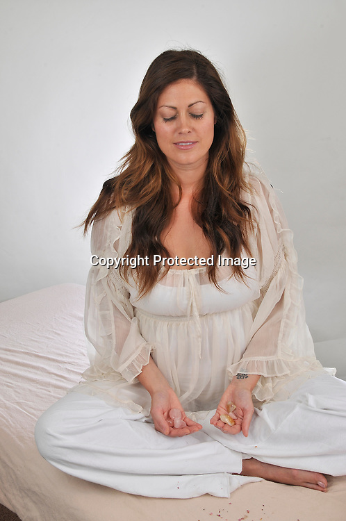 Royalty Free Photo of a woman in meditation