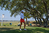 Azahara Munoz (ESP) heads down 5 during round 1 of the 2019 US Women's Open, Charleston Country Club, Charleston, South Carolina,  USA. 5/30/2019.<br /> Picture: Golffile | Ken Murray<br /> <br /> All photo usage must carry mandatory copyright credit (© Golffile | Ken Murray)