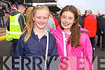Erin Wakley and Emma Keane (Limerick) pictured at Listowel races on Sunday last.