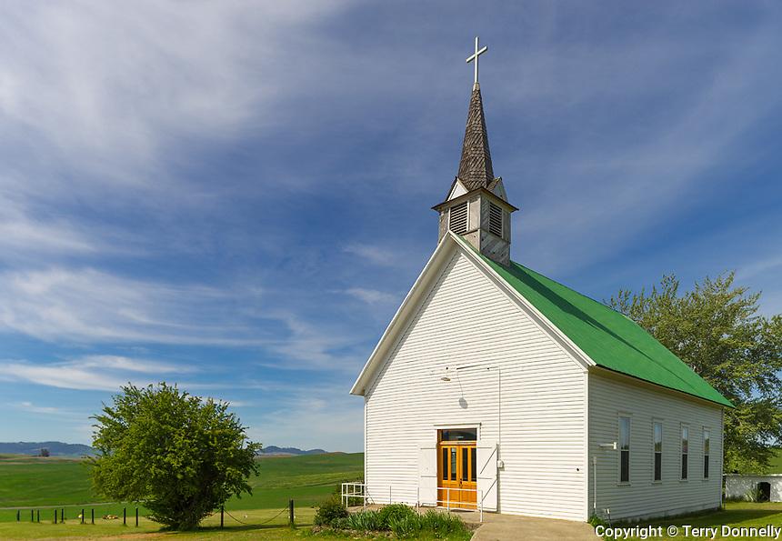 The Palouse, Potlatch, ID: Freeze Community Church (1899)