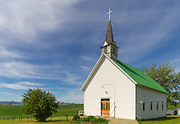The Palouse, Potlatch, ID: Freeze Community Church (1899)