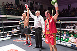 Paul Greenidge vs Borislav Zankov 4x3 - Middleweight Contest During Goodwin Boxing - Date With Destiny. Photo by: Simon Downing.<br /> <br /> Saturday September 23rd 2017 - York Hall, Bethnal Green, London, United Kingdom.