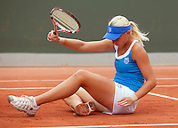 26-05-10, Tennis, France, Paris, Roland Garros, Michaela Krajicek