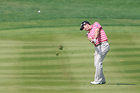Padraig Harrington (IRL) in action on the 2nd hole during Saturday's Round 3 of the HSBC Golf Championship at the Abu Dhabi Golf Club, United Arab Emirates, 28th January 2012 (Photo Eoin Clarke/www.golffile.ie)
