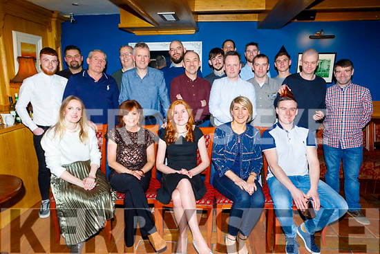 The staff of Lab Works and Lots Furniture Tralee enjoying their Christmas party in the Imperial Hotel on Saturday.