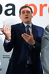 Albert Rivera attends to an informative breakfast by Europa Press