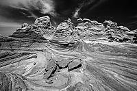 White Pocket _South Paria Wilderness B&W images