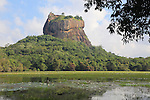 Rock palace at Sigiriya, Central Province, Sri Lanka, Asia
