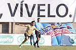 ITAGÜÍ – COLOMBIA _ 06-10-2013 / En compromiso correspondiente a la decimocuarta fecha del Torneo Clausura Colombiano 2013, Itagüí FC venció 1 – 0 a Independiente Medellín en el Estadio Metropolitano de Ditaires. / Jorge Aguirre celebra el gol que le dio la victoria a Itagüí.