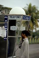 Costa Rica - file Photo -LA FORTUNE phone booth