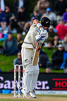 Neil Wagner of the Black Caps on the final day of the Second International Cricket Test match, New Zealand V England, Hagley Oval, Christchurch, New Zealand, 3rd April 2018.Copyright photo: John Davidson / www.photosport.nz