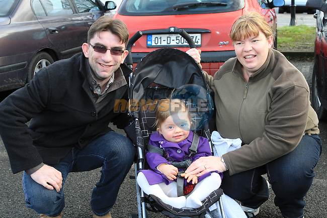Kevin, Grace and Michelle Hampson at the 5 Bridges Walk in aid of Down Syndrome Ireland...(Photo credit should read Jenny Matthews www.newsfile.ie)....This Picture has been sent you under the conditions enclosed by:.Newsfile Ltd..The Studio,.Millmount Abbey,.Drogheda,.Co Meath..Ireland..Tel: +353(0)41-9871240.Fax: +353(0)41-9871260.GSM: +353(0)86-2500958.email: pictures@newsfile.ie.www.newsfile.ie.