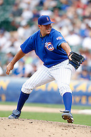 August 9, 2009:  Pitcher Blake Parker of the Iowa Cubs during a game at Wrigley Field in Chicago, IL.  Iowa is the Pacific Coast League Triple-A affiliate of the Chicago Cubs.  Photo By Mike Janes/Four Seam Images