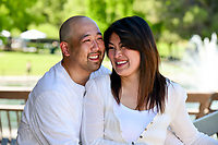 Irene and Joe's Engagement at Heather Farms in Walnut Creek.
