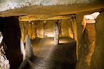Le Dehus prehistoric passage burial tomb, Vale, Guernsey