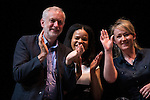 © Joel Goodman - 07973 332324 . 23/07/2016 . Salford , UK . Jeremy Corbyn launches his campaign to be re-elected Labour Party leader , at the Lowry Theatre at Salford Quays . Photo credit : Joel Goodman