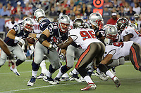16.08.2013: New England Patriots vs. Tampa Bay Buccaneers