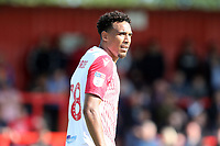 Dean Parrett of Stevenage during Stevenage vs Exeter City, Sky Bet EFL League 2 Football at the Lamex Stadium on 10th August 2019