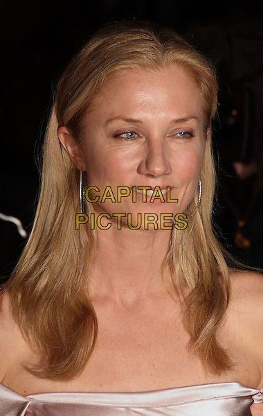 JOELY RICHARDSON .Arrivals at The Love Ball, the Roundhouse, Camden, London , England, UK, February 23rd 2010.portrait headshot silver hoop earrings .CAP/JIL.©Jill Mayhew/Capital Pictures.