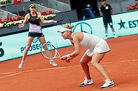 Ekaterina Makarova and Elena Vesnina, Russia, during Madrid Open Tennis 2018 WTA Doubles Final match. May 12, 2018.(ALTERPHOTOS/Acero) /NORTEPHOTOMEXICO