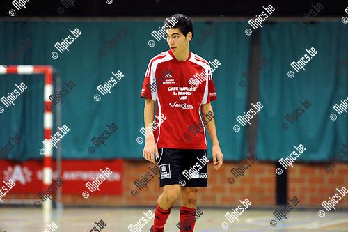 11-11-25 / Futsal / seizoen 2011-2012 / Antwerpen - Lier / Abderahim El Kharoubi..Foto: Mpics
