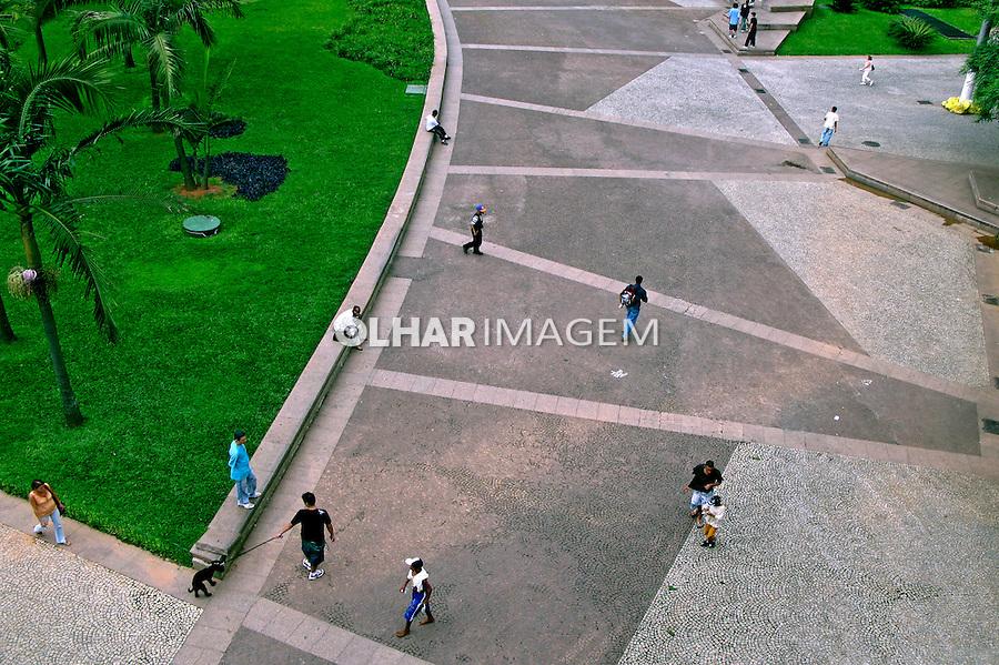 Vale do Anhangabau em São Paulo. 2007. Foto de Juca Martins.