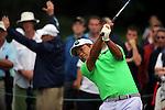 Yoshinobu Tsukada (JPN), JUNE 13, 2013 - Golf : 2013 U.S. Open golf championship first round 15th hole at the Merion Golf Club in Ardmore, Pennsylvania, United States. (Photo by Koji Aoki/AFLO SPORT)