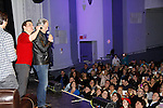 """Christian LeBlanc and Eric Braeden """"Victor Newman"""" - The Young and The Restless & fans as Genoa City Live celebrating over 40 years with on February 20, 2016 at the Wellmont Theatre, Montclair, NJ. on stage with questions and answers followed with autographs and photos in the theater.  (Photo by Sue Coflin/Max Photos)"""