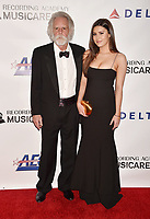 LOS ANGELES, CA - FEBRUARY 08: Bob Weir (L) and Shala Monet Weir attend MusiCares Person of the Year honoring Dolly Parton at Los Angeles Convention Center on February 8, 2019 in Los Angeles, California.<br /> CAP/ROT/TM<br /> &copy;TM/ROT/Capital Pictures