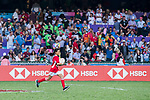 HSBC Ball Carriers during the HSBC Hong Kong Rugby Sevens 2018 on 08 April 2018, in Hong Kong, Hong Kong. Photo by Yu Chun Christopher Wong / Power Sport Images