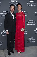 "Giada Tronchetti Provera and her husband Carlo Noseda attend the gala night for official presentation of the Presentation of the Pirelli Calendar 2019 ""The cal"" held at the Hangar Bicocca. Milan (Italy) on december 5, 2018. Credit: Action Press/MediaPunch ***FOR USA ONLY***"