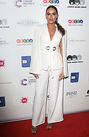 Chloe Ross attends James Ingham's 'Jog-On to Cancer' 7th annual party raising funds for Cancer Research UK, at Proud Embankment, London on April 10th 2019<br /> CAP/ROS<br /> ©ROS/Capital Pictures