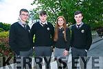 At the Brookfield College Graduation in the Ballyroe Heights Hotel on Thursday were Dónal Ó Briain, Daithí Ó Laoire, Caitlín Ní Chonchúbhir, Jeaic Ó Briain