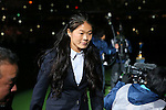 Homare Sawa, <br /> DECEMBER 20, 2015 - Football / Soccer : <br /> FIFA Club World Cup Japan 2015 <br /> award ceremony  <br /> at Yokohama International Stadium in Kanagawa, Japan.<br /> (Photo by Yohei Osada/AFLO SPORT)