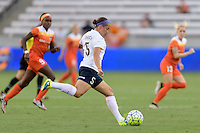 Houston, TX - Thursday Aug. 18, 2016: Whitney Church during a regular season National Women's Soccer League (NWSL) match between the Houston Dash and the Washington Spirit at BBVA Compass Stadium.