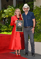 LOS ANGELES, CA. September 20, 2018: Carrie Underwood & Brad Paisley at the Hollywood Walk of Fame Star Ceremony honoring singer Carrie Underwood.<br /> Pictures: Paul Smith/Featureflash
