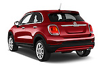 Car pictures of rear three quarter view of 2016 Fiat 500X-City-Look Pop-Star 5 Door Suv Angular Rear