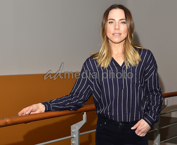 "English singer, songwriter Melanie C visits Radio Hamburg. She sings live from her current single ""Dear Life"", as well as the Coversong ""Firework"" by KatyPerry in the live lounge of Radio Hamburg. Hamburg, Germany, 31.01.2017. Photo Credit: Jan Sauerwein/face to face/AdMedia"